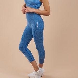 Gymshark Blueberry Marl Crop Leggings